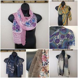 Scarf NWT Bundle of 4 New scarves